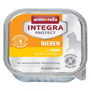 Animonda Integra Protect Adult Renal 6 x 100 g portionsform Nötkött