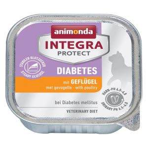 Ekonomipack: Animonda Integra Protect Adult Diabetes 12 x 100 g portionsform Lax