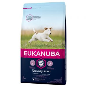 Eukanuba Growing Puppy Small Breed Chicken - Ekonomipack: 3 x 3 kg
