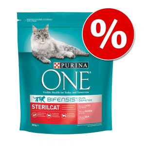 3 kg Purina ONE till SUPERPRIS! - Adult Lax & fullkorn
