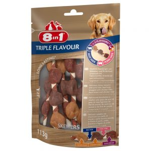 8in1 Triple Flavour Skewers - 113 g (6 st)