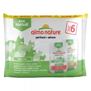 Blandpack: Almo Nature Anti Hairball Pouch - 12 x 70 g