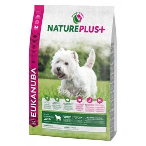 Eukanuba Nature Plus+ Adult Small Breed Lamb OL 10 kg