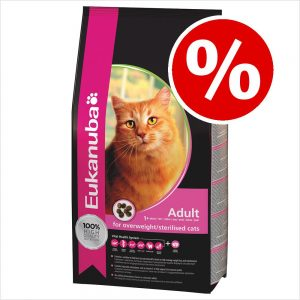 10 % rabatt på Eukanuba kattfoder! - Sterilised / Weight Control Adult (3 kg)