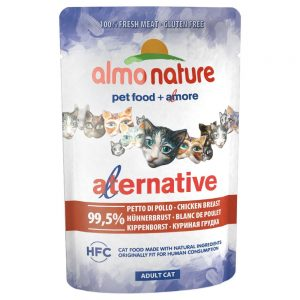 Almo Nature HFC Alternative Cat 6 x 55 g Tonfisk från Stilla havet