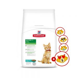 Hill's Science Plan Kitten torrfoder + Emoji Toy på köpet! Kitten Tuna (2 kg)