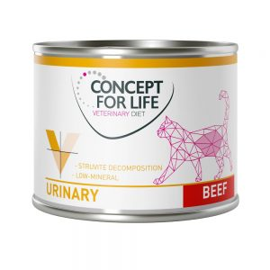 Concept for Life Veterinary Diet Urinary Beef - 6 x 200 g
