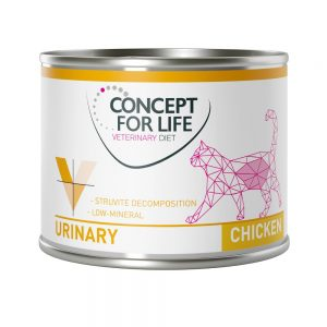 Concept for Life Veterinary Diet Urinary Chicken - 6 x 200 g