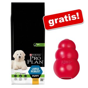 Stor påse Pro Plan + Kong Classic-leksak på köpet! Medium Puppy Sensitive Skin OPTIDERMA 12 kg