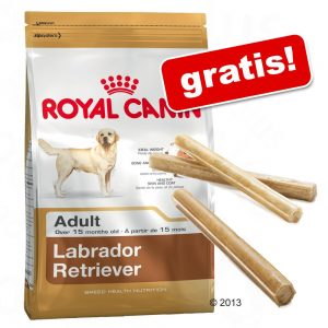 7,5 - 12 kg Royal Canin Breed hundfoder + 3 Barkoo tuggpinnar på köpet! - Golden Retriever Adult (12 kg)