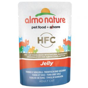 Almo Nature HFC Jelly Pouch 6 x 55 g Tonfisk
