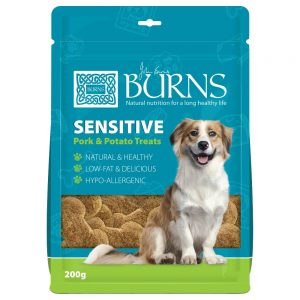 Burns Sensitive Pork & Potato Treats - Ekonomipack: 10 x 200 g