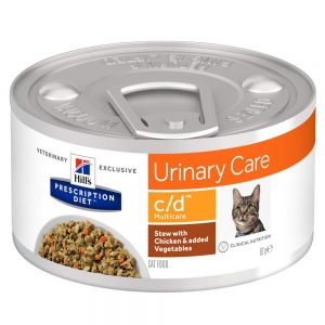 Hill's Prescription Diet c/d Multicare Urinary Care Stew med kyckling kattmat - Ekonomipack: 48 x 82 g