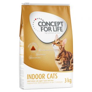 Concept for Life Indoor Cats - Ekonomipack: 2 x 10 kg