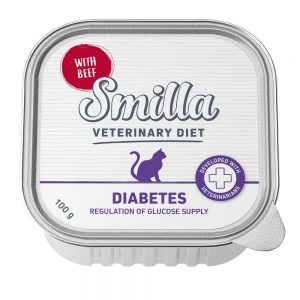 Smilla Veterinary Diet Diabetes - Ekonomipack: 24 x 100 g