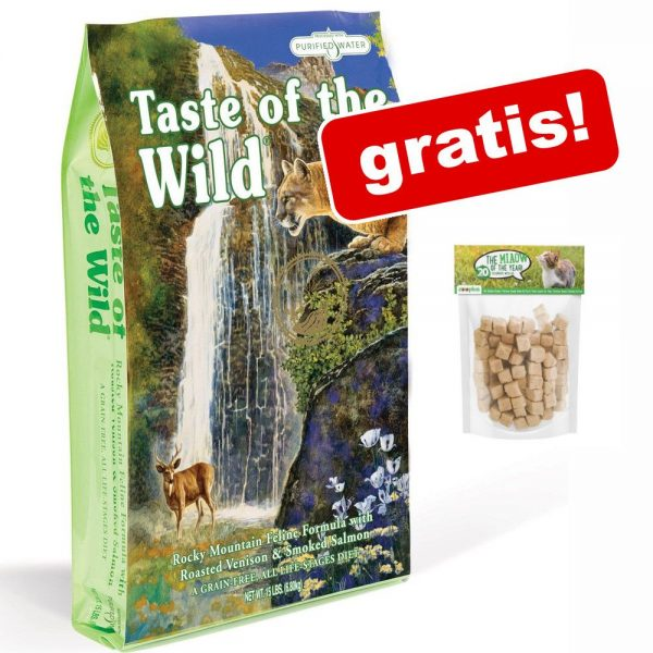 Taste of the Wild + Purizon snacks på köpet! - Rocky Mountain Feline