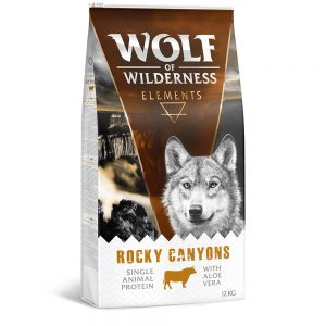Wolf of Wilderness ''''Rocky Canyons'''' - Beef - 1 kg