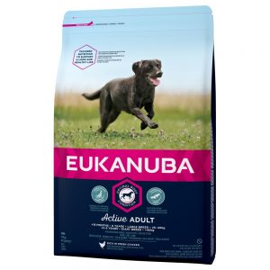 Eukanuba Active Adult Large Breed Chicken - 15 kg