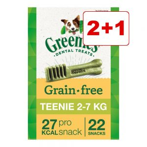 2 + 1 på köpet! 3 x 170 g Greenies tandvårdsgodis Greenies Medium 3 x (à 170 g / 6 st)