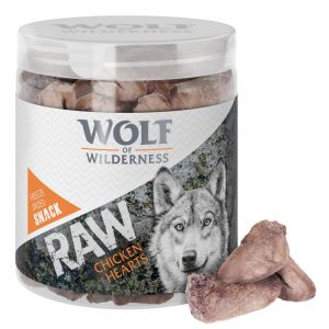 Blandpack: 2 sorter Wolf of Wilderness - RAW Snacks Wide Acres & High Valley (160 g)