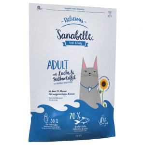 Sanabelle Delicious Adult with Salmon & Sweet Potato - Ekonomipack: 2 x 2 kg