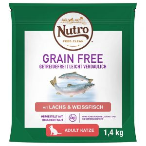 Nutro Cat Grain Free Adult Salmon & Whitefish - 4 kg