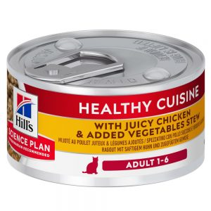 Hill's Science Plan Adult Healthy Cuisine Ragout Chicken & Vegetables - 24 x 79 g