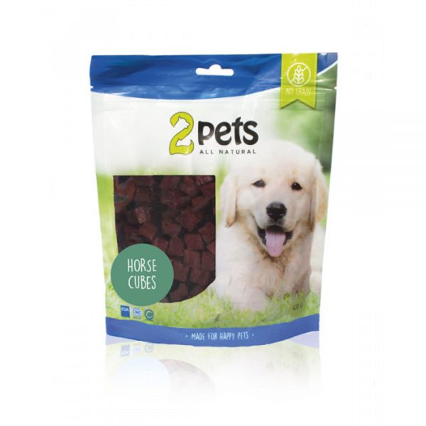 2pets Dogsnack Horse Cubes (400 g)