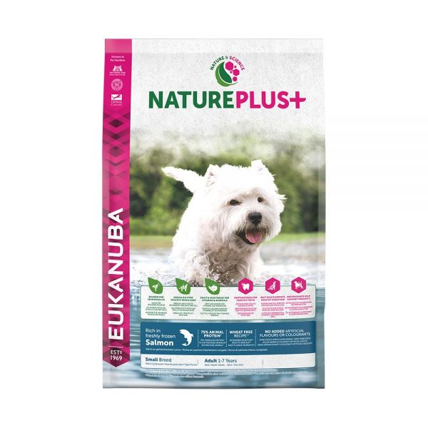 Eukanuba Nature Plus+ Adult Small Breed Salmon (10 kg)
