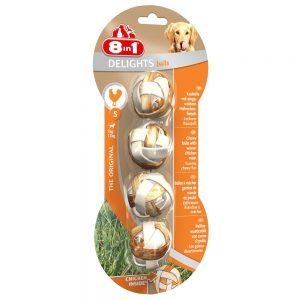 8in1 Delights tuggbollar - 4 st (36 g) Small