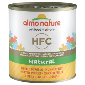 Almo Nature HFC 6 x 280 g - Tonfisk & kyckling