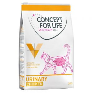 Concept for Life Veterinary Diet Urinary - Ekonomipack: 3 x 3 kg