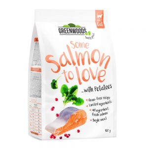 Greenwoods Salmon with Potato, Spinach & Cranberries 400 g