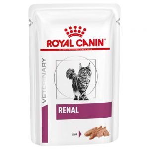 Royal Canin Veterinary Diet Feline Renal Mousse - 12 x 85 g