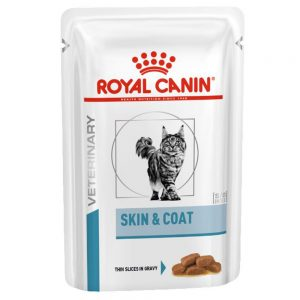 Royal Canin Veterinary Diet Feline Skin & Coat Ekonomipack: 24 x 100 g