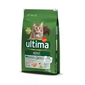Ultima Cat Adult Salmon & Rice - 7,5 kg
