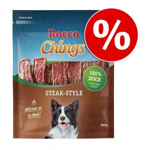 Ekonomipack: Rocco Chings Steak Style Ankkött 12 x 200 g