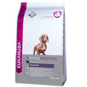 Eukanuba Dachshund Adult - Breed Specific - 2,5 kg