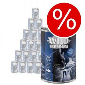 Extra lågt sparpris! Wild Freedom 24 x 200 / 400 g - Golden Valley - Rabbit & Chicken 24 x 400 g