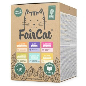 FairCat Multipack - 6 x 85 g