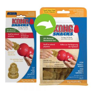 KONG Snacks Bacon & Cheese - Ekonomipack: S (2 x 198 g)