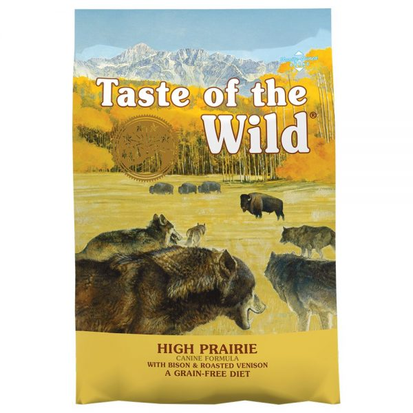 Taste of the Wild High Prairie Canine Ekonomipack: 2 x 12,2 kg