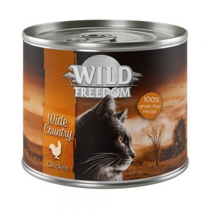 Wild Freedom Adult 6 x 200 g NYHET: Wild Hills - Duck & Chicken