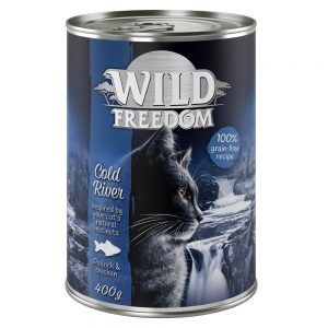 Wild Freedom Adult 6 x 400 g NYHET: Wild Hills - Duck & Chicken