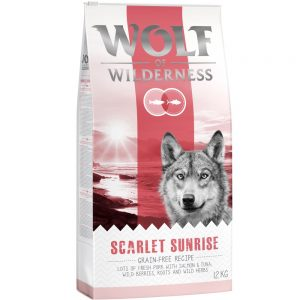 Wolf of Wilderness Scarlet Sunrise - Salmon & Tuna - 1 kg