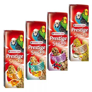 Blandpack Versele-Laga Prestige Sticks - Undulater - 4 x 2 sticks (240 g)