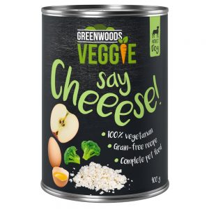 Greenwoods Veggie Cottage Cheese, Egg, Apple & Broccoli Ekonomipack: 24 x 400 g