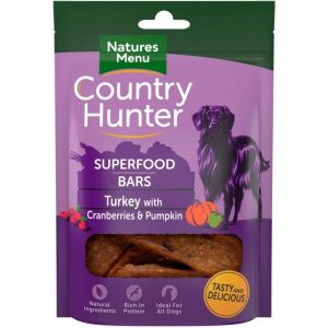 NaturesMenu Country Hunter Bar Kalkon 100g