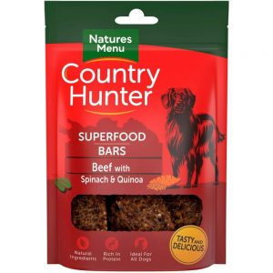 NaturesMenu Country Hunter Superfood Bar Biff 100 g