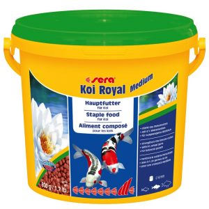 Sera Koi Royal Medium Granulat - 3800 ml